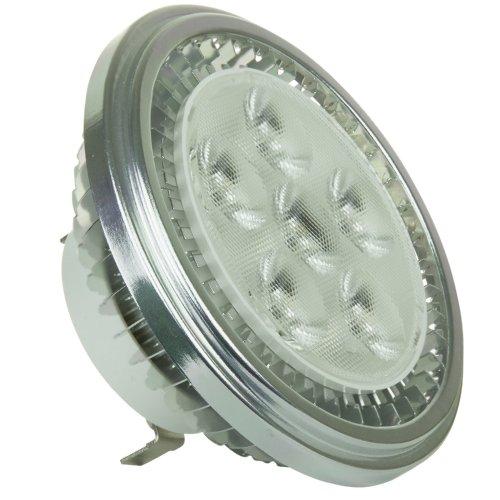 Sunlite Ar111/6Led/12W/Ww/Fl Fl 25-Degree Led 12-Volt 12-Watt G53 Based Ar111 Lamp, Warm White Color