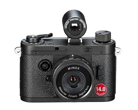 """Minox 60690 Appareil Photo Numérique 2"""" (5,08 cm) 14 Mpix Noir"""