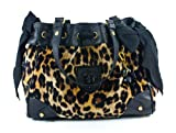 Juicy Couture Daydreamer Yhru3129 Shoulder Bag Camel Leopard One Size 5