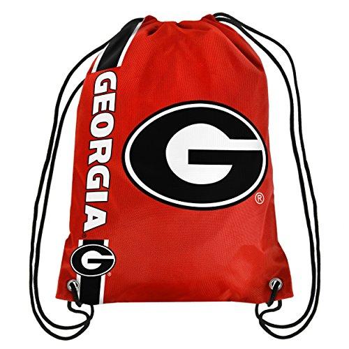 NCAA Georgia Bulldogs 2015 Drawstring Backpack, Red (Georgia Bulldogs Clothes compare prices)