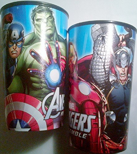 Marvel Avengers Assemble 16oz Plastic Party Drink Cup 2pk - 1