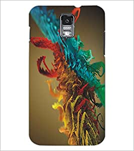 SAMSUNG GALAXY S5 COLORFUL LEAFS Designer Back Cover Case By PRINTSWAG
