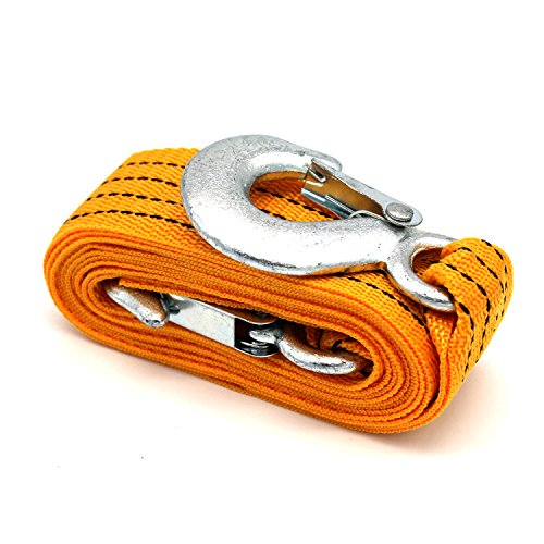hook up tow rope boat I have bought some ss carabina type fittings to make up a tow rope for my boat, is there any specific length it should be the boat is 61 mtrs and the tow boat is my.
