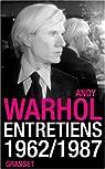 Entretiens 1962-1987 par Warhol