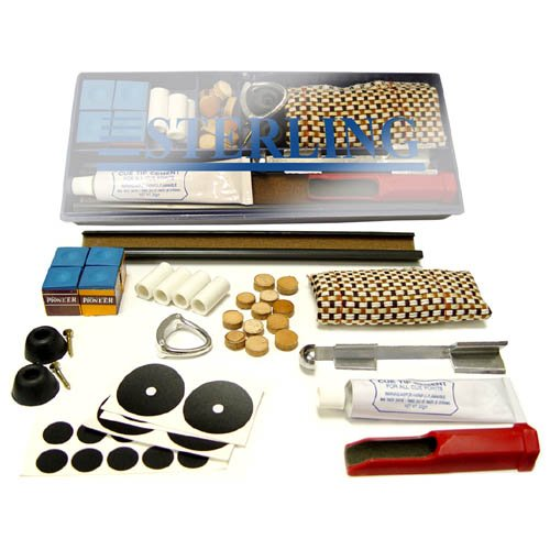 Fantastic Deal! Sterling Gaming Pool Cue & Table Home Repair Kit