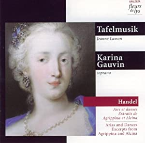 Handel: Airs and Dances, Excerpts From Agrippina and Alcina