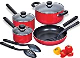 Cook N Home 10-Piece Aluminum Nonstick Cookware Set