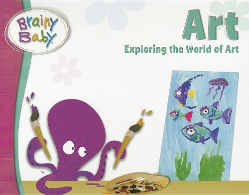 Brainy Baby Art Board Book - 1