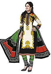 Salwar Studio Multicolor Cotton Dress Material With Dupatta RangResham-1813