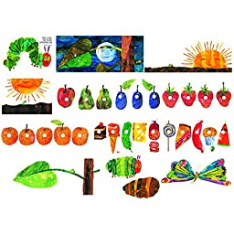 LITTLE FOLKS VISUALS ERIC CARLE THE VERY HUNGRY (Set of 3)