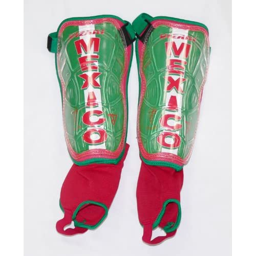 Amazon.com : VIZARI WC MEXICO SHIN GUARDS : Soccer Shin Guards