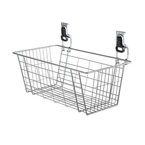 Rubbermaid FastTrack Garage Storage Wire Mesh Basket, 24