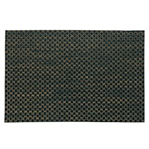 Kela 390096 4 Stück Tisch-Sets Plato in Flechtoptik hellbraun/schwarz Abwaschbar