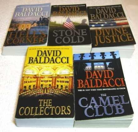 Camel Club Series Complete Set, Volumes 1-5 (Camel Club / the Collectors / Stone Cold / Divine Justice / Hell's Corner) PDF