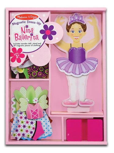 melissa-doug-deluxe-nina-ballerina-magnetic-dress-up-wooden-doll-with-27-pieces-of-clothing