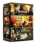 echange, troc Heroic Fantasy - Coffret - Wolfhound, l'ultime guerrier + Kull, le conquérant + Odysseus, voyage au coeur des ténèbres