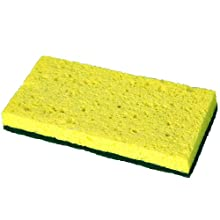 Continental SS652 6-1/4 Inch Length by 3-1/8 Inch Width Medium Duty Wet Pack Sponge 5-Pack (Case of 8)