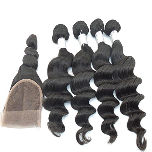 Lanova-Beauty-Virgin-Hair-Extensions-Cheap-Malaysian-Hair-Weave-Hair-Loose-Wave-10-28Mixed-Length-With-1Pc-Lace-Closure44