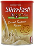 Slim Fast Powder Caramel Temptation 438g