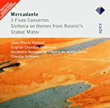 Mercadente: Three Flute Concertos, Sinfonia On Themes From Rossini'S & Stabat Mater Jean-Pierre Rampal