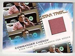 Star Trek Commander Chekov in Star Trek III the Search for Spock Costume Trading Card #MC13