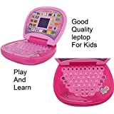 ABC & 123 Learning Kids Laptop With LED Display And Music-Kids Kart