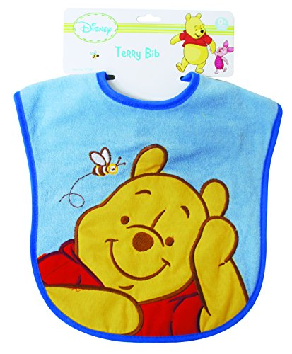 Winnie The Pooh Deluxe Terrycloth With Vinyl Bib - 1