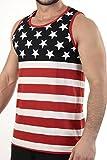 Patriotic American Flag TANKMEDIUM