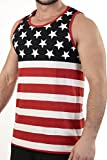 Patriotic American Flag TANKXL