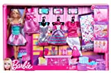 Toy - Barbie X6991 Fashion Doll Giftset - Outfit Fashions & Stickers