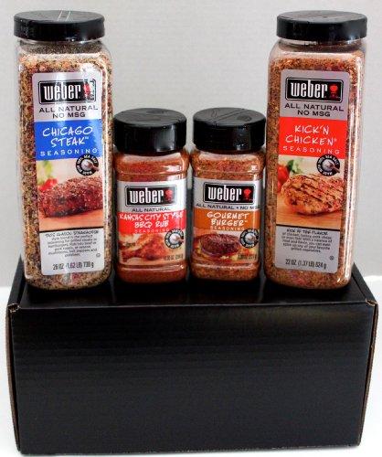 Grill Master Gourmet Gift Set  Weber Kick'n Chicken,