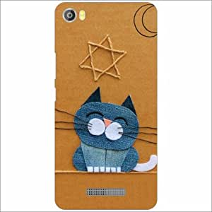 Lava Iris X8 Back Cover - Silicon Tooned Designer Cases