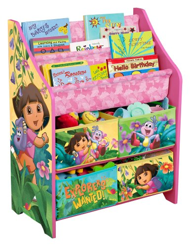 Nickelodeon Dora The Explorer Book And Toy Organizer back-1041570