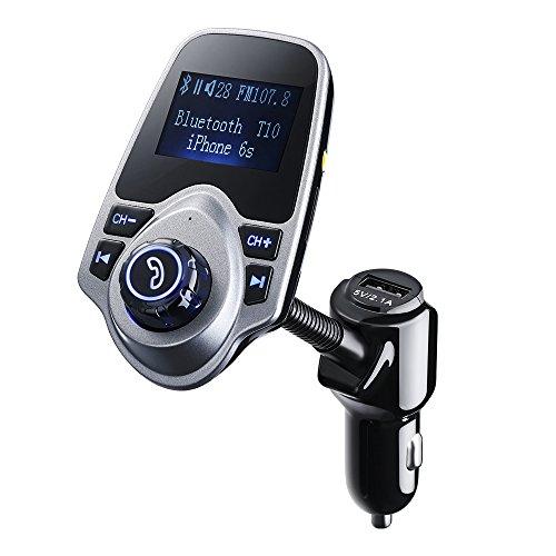 FM-Transmitter-PrimAcc-Bluetooth-FM-Transmitter-Wireless-Bluetooth-FM-Transmitter-Empfnger-mit-Mikrofon-Freisprecheinrichtung-Auto-USB-Ladegert-5V21A-Ausgang-und-35mm-AUX-Eingang-fr-PKW-Kfz-iPhone-SE6