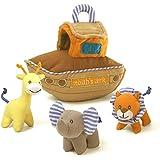 "Gund Baby Noah's Ark 8"" Playset Multi"