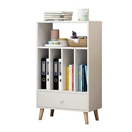 TH Libreria di scaffale verticale Nord Europa Libreria di scaffale semplice aperta con scaffale aperto ( Colore : #1 )