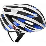 rh+(アールエイチプラス) Helmet Bike ZY EHX6055 14 L/XL Shiny White-Shiny Blue L/XL