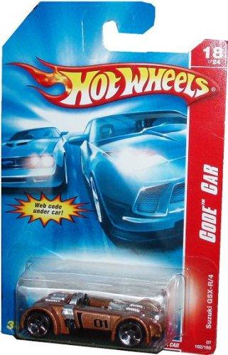 Hotwheels 2007 Code Car Suzuski GSX R/4 - 1