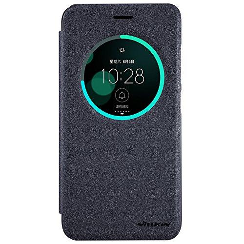Asus Zenfone 3 ZE520KLCase - IVSO Slim Flip Shell Case for Asus Zenfone 3 ZE520KL(ZU680KL) Smartphone (Slim Book Series - Black)