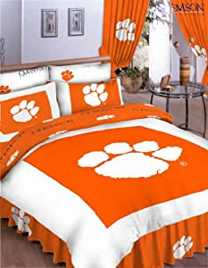 Amazon Com College Covers Clemson Tigers Bed In A Bag