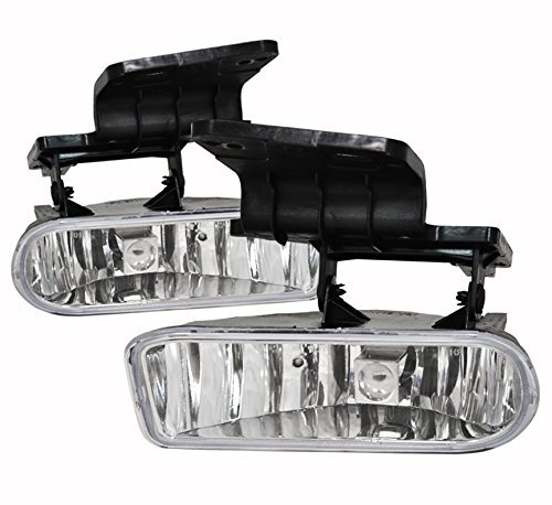 AVEC AV-Sil99 Products Chevy Tahoe OEM Fog Lights, Clear Lens, Pair (04 Chevy Fog Lights compare prices)