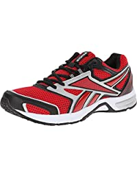 Reebok Mens Southrange Run L Scarlet/Pure Silver/Black/White Sneaker 7.5 D (M)