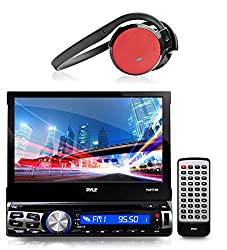 See 1 X New Pyle PLBT73G 7-inch Bluetooth CD/Multimedia AM/FM Radio AUX Input Player Stereo Receiver With GPS Navigation Headunit with Built-in Mic for Hands-Free Call Answering Touch Screen USB/SD Card Readers + 1 X PHBT5R Stereo Bluetooth Streaming Wireless Details