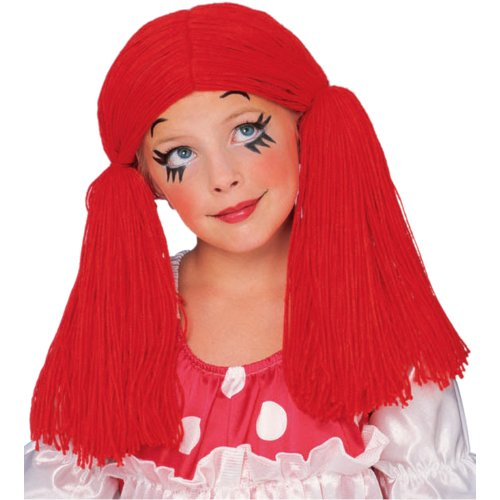 Child's Rag Doll Wig Costume Accessory