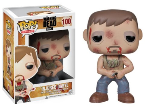 Funko POP! Television: The Walking Dead Series 4- Injured Daryl - 1