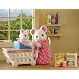 Sylvanian Families Katie and Mazie Go Shopping
