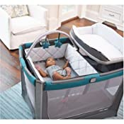 Graco Pack N Play Playard Smart Stations Sapphire Baby