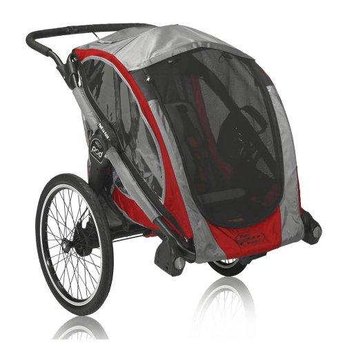 Baby Jogger 2013 POD Chassis, Crimson/Gray