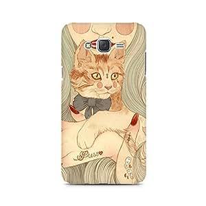 Mobicture Man Illustrated Premium Designer Mobile Back Case Cover For Samsung J5