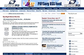 PhysOrg.com - Science, Technology, Research News